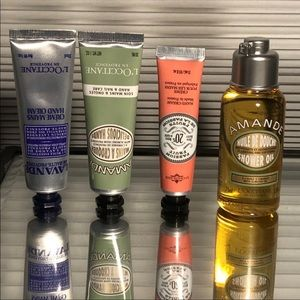 PROCE FIRM LOCCITANE Lotions and Shower Oil Bundle